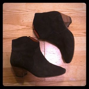 Isabel marant dicker boots size 36 6 grey